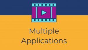 amazon video multiple application