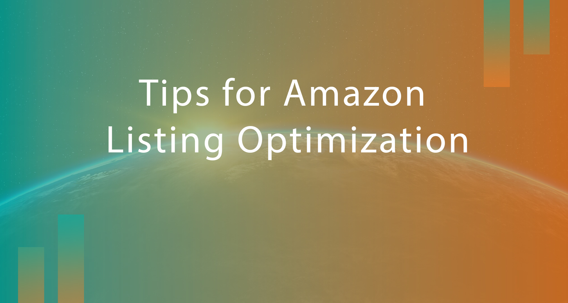 Tips for Amazon Listing Optimisation