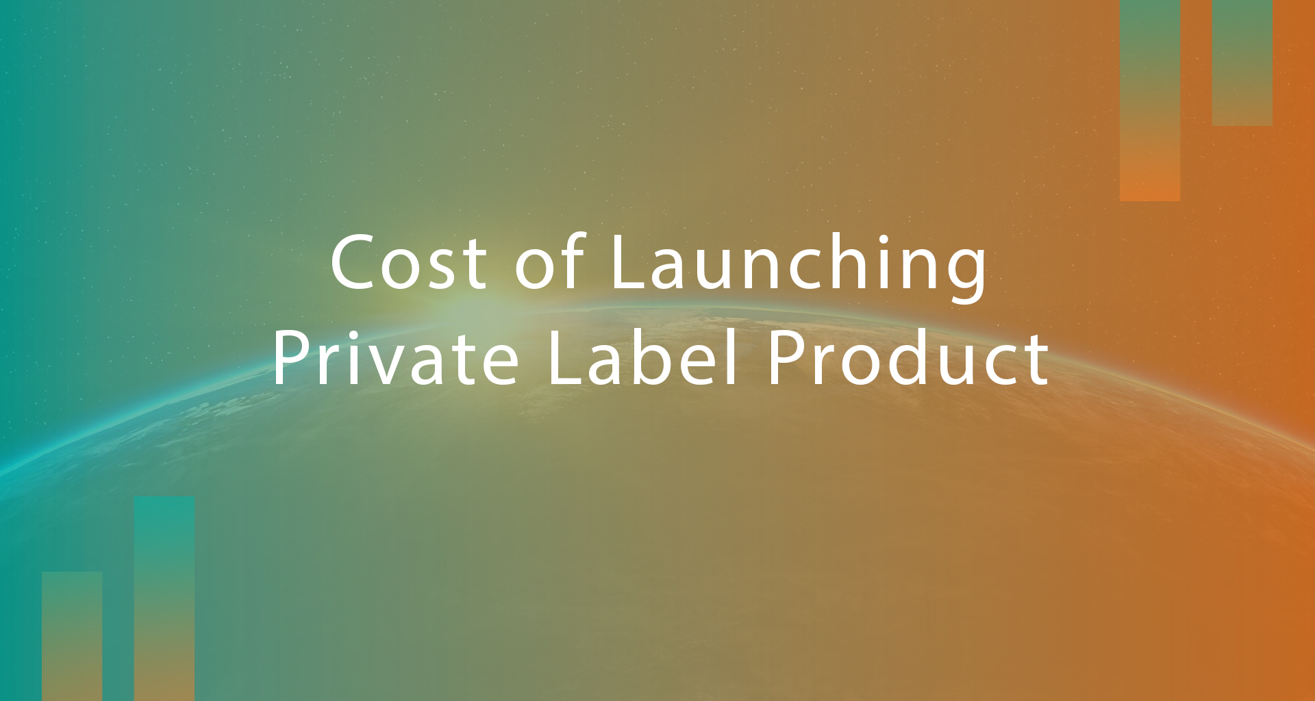 How Much Money Do I Need To Launch My Own Private Label Product on Amazon?