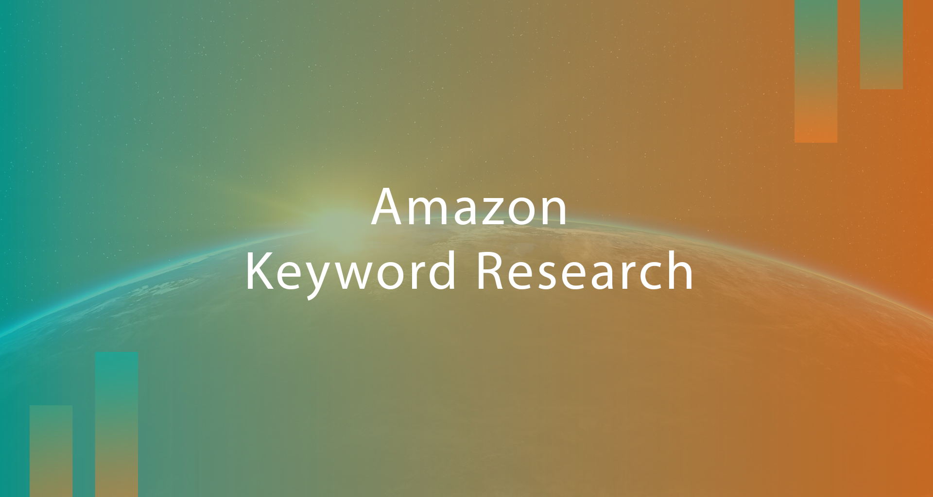 how to do amazon keyword research