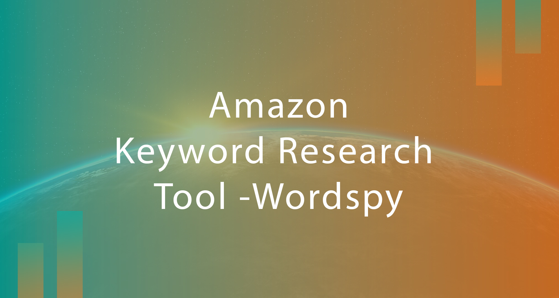 amazon keyword research tool