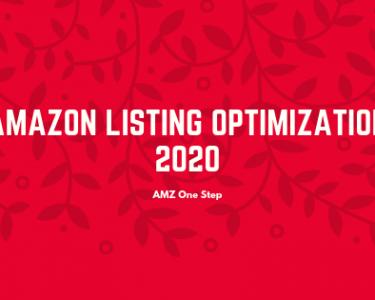 Amazon listing optimization 2020