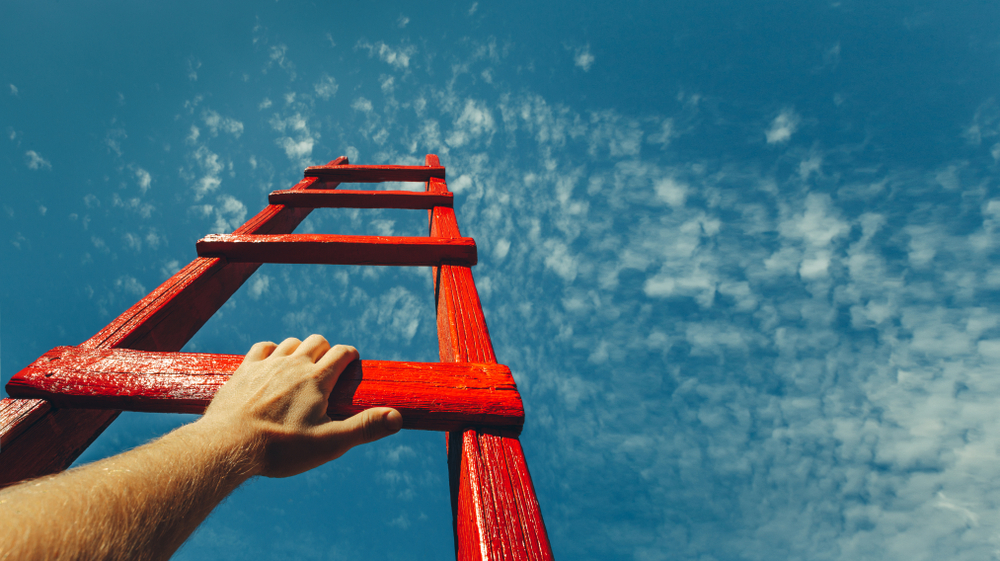 Time to climb the ladder with PPC (Pay per Click)