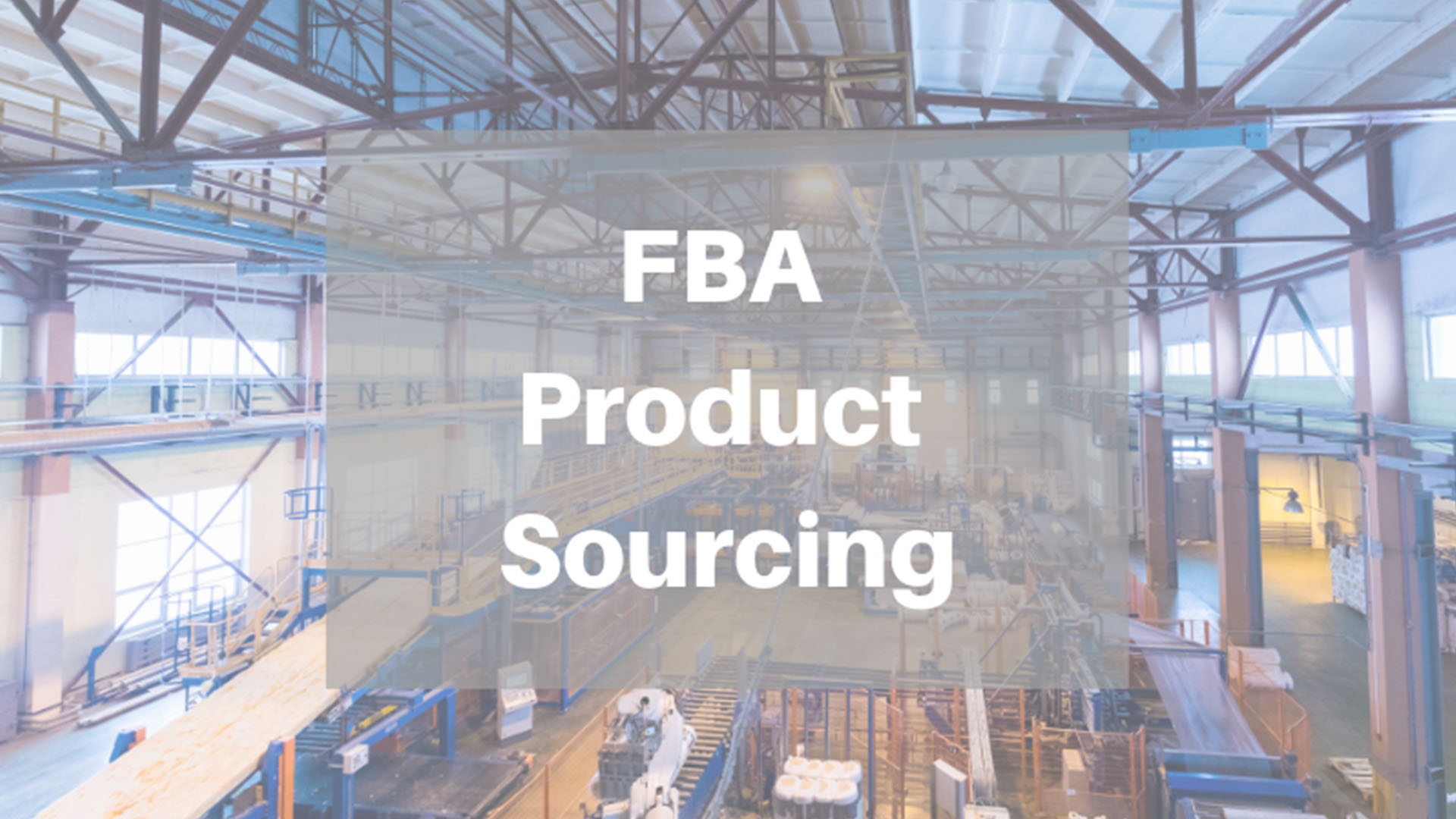 Amazon FBA Product Sourcing | Options Other Than Alibaba